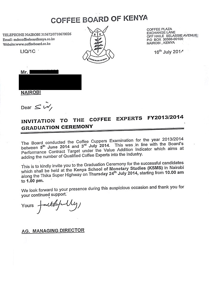 Export coffee