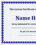 Sector specific license