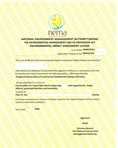 Environmental impact assessment licence